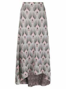 Paco Rabanne glitter detail skirt - Silver