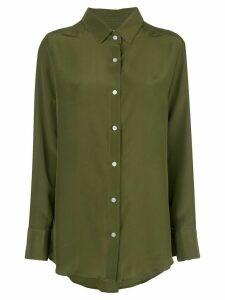 Dresshirt fluid shirt - Green