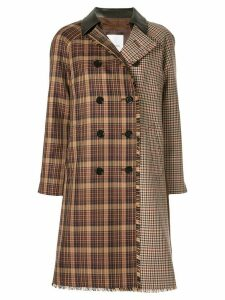 Loveless deconstructed coat - Brown