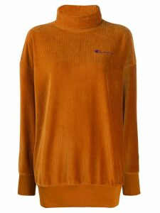 Champion ribbed roll neck jumper - Brown
