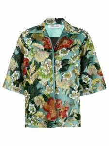 Richard Quinn bead-embellished jacket - Green