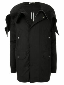 Rick Owens hooded padded coat - Black