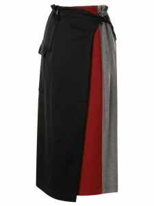 Frei Ea layered midi skirt - Multicolour