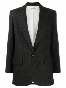 Zadig & Voltaire Vow pinstripe blazer - Grey