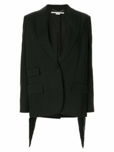 Stella McCartney fringe back blazer - Black
