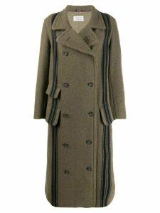 Maison Margiela double-breasted wool coat - Green