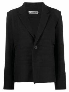 Issey Miyake rib panel blazer - Black