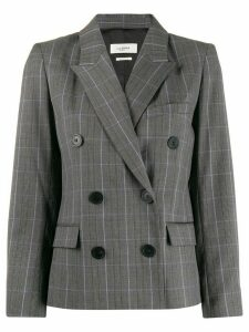 Isabel Marant Étoile fitted checked blazer - Grey