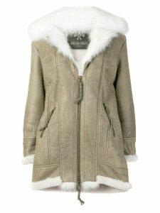 Mr & Mrs Italy zipped midi coat - Green