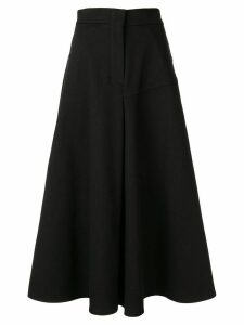 Goen.J Damon flared skirt - Black