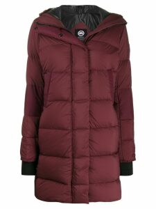 Canada Goose Alliston padded parka - Red
