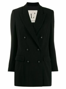 L'Autre Chose double-breasted oversized blazer - Black