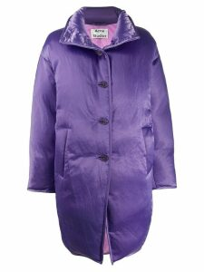 Acne Studios cocoon down coat - Purple