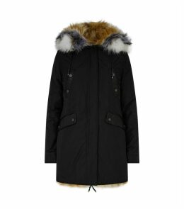 Belleville Fur-Lined Reversible Parka