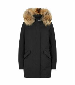 Fur-Trim Luxury Arctic Parka