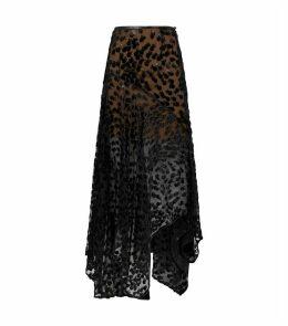 Roma Velvet Devoré Skirt