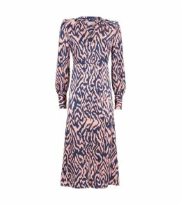 Silk Animal Print Mindy Dress