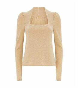 Cashmere Square Neck Sweater