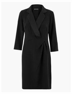 M&S Collection Tuxedo Shift Mini Dress