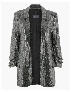 M&S Collection Sequin Blazer