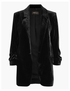 M&S Collection Velvet Blazer