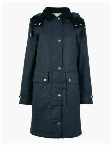 Per Una Longline Wax Look Coat