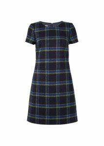 Riley Dress Navy Green 18