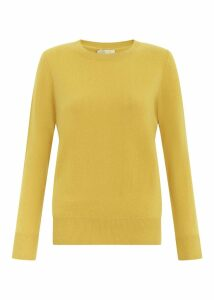 Freya Cashmere Sweater Saffron XL