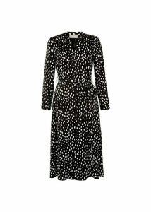 Ginnie Dress Black White