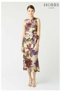 Womens Hobbs Pink Thao Floral Dress -  Pink