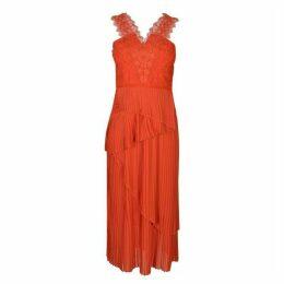 Three Floor Pleat Dress