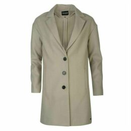 Firetrap Blackseal Long Length Crombie Coat