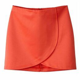 Plain Short Pencil Skirt
