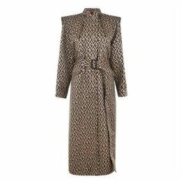 Gucci Rhombus Print Coat
