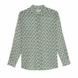 Printed Long-Sleeved Shirt