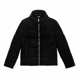 Smooth Velvet Padded Jacket
