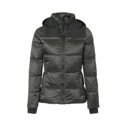 Olga Shiny Padded Jacket with Hood