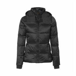 Olga Shiny Padded Jacket with Hood