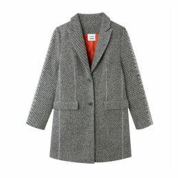 Unisex Single-Breasted Coat