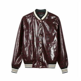 LAURY Python Print Jacket