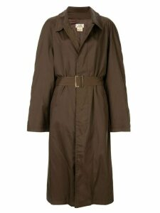 Hermès Pre-Owned belted trench coat - Brown
