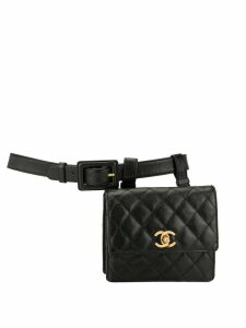 Chanel Pre-Owned 1990s CC belt bag - Brown