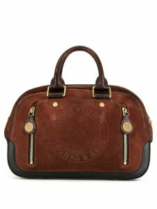 Louis Vuitton Pre-Owned Stamp Bag GM tote - Brown