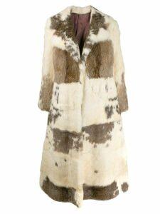 A.N.G.E.L.O. Vintage Cult 1970s longline coat - Neutrals