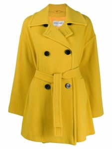 Pierre Cardin Pre-Owned 1980s double-breasted coat - Yellow