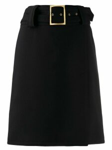 Dolce & Gabbana Pre-Owned 1990s A-line skirt - Black