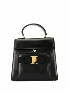 Salvatore Ferragamo Pre-Owned Vara Bow tote - Black