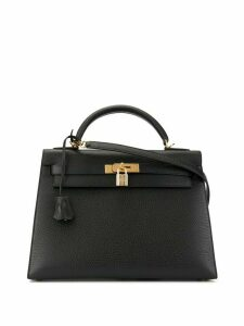 Hermès Pre-Owned Kelly 32 Sellier 2way hand bag - Black