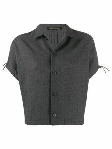 Yohji Yamamoto Pre-Owned 1990s cut-off jacket - Grey