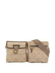 Salvatore Ferragamo Pre-Owned Gancini belt bag - Brown